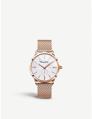 Thomas Sabo WA0303-265-213 Glam Spirit rose-gold stainless steel watch