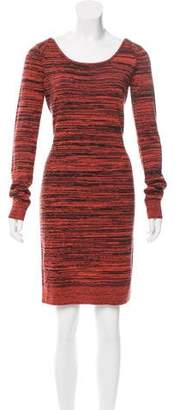 Rebecca Minkoff Printed Knee-Length Dress
