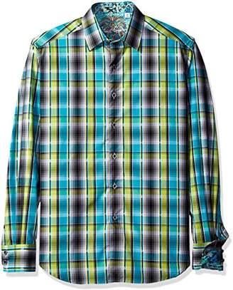 Robert Graham Men's Classic Fit Woven Long Sleeve Sport Shirt