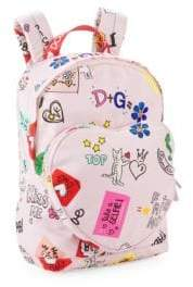 Dolce & Gabbana Kid's Heart Pocket Backpack