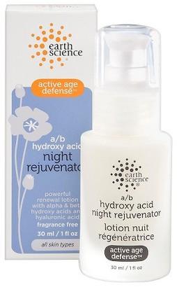 Earth Science A/B Hydroxy Acid Night Rejuvenator - 1 oz $24.95 thestylecure.com