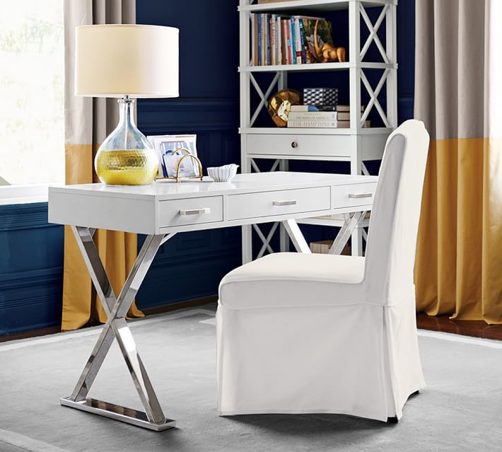 Pottery Barn Furniture Repair Kit: Pottery Barn Ava Desk With Drawers