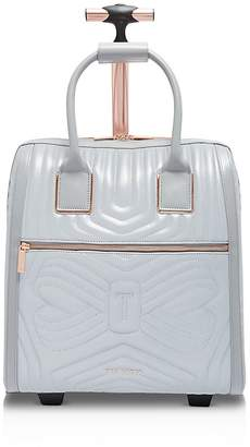 Ted Baker Clariaa Reflective Quilted Bow Carry-On