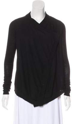Givenchy Wool Asymmetrical Cardigan