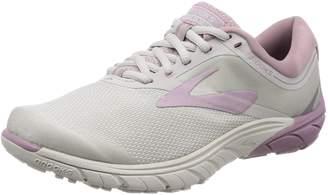 Brooks Women's PureCadence 7 Running Shoe (BRK-120261 1B 3939370 8 BLK/PUR/MUL)
