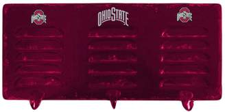 Ohio State Buckeyes 3-Hook Metal Coat Rack