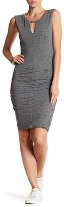 Velvet by Graham & Spencer Neva Sleeveless Shirred Dress