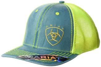 c068867425b57 Ariat Women s Offset Logo Mesh Snap Cap