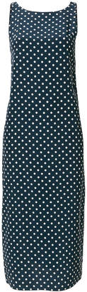 Aspesi v-back polka dot dress