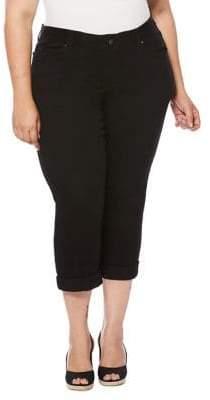 Rafaella Plus Cropped Jeans