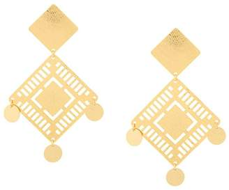 Paula Mendoza Kambiru earrings