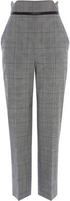 Karen Millen Check Tailored Trousers