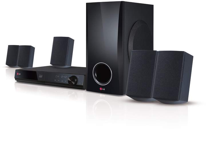 Lg LG Smart 5.1-Channel Home Theater System & 3D Blu-ray Player