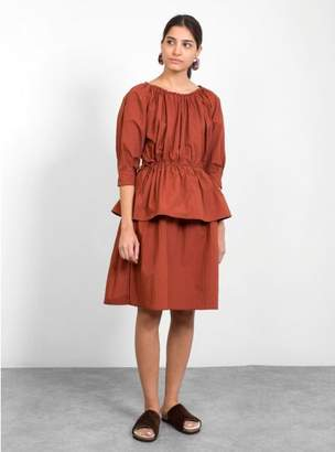 Callahan Caron Judith Cotton Poplin Dress