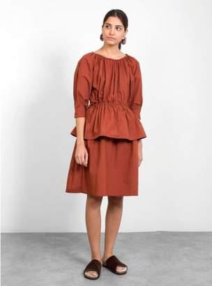 Caron Callanhan Judith Cotton Poplin Dress