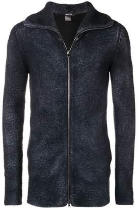 Avant Toi fuzzy knit jacket