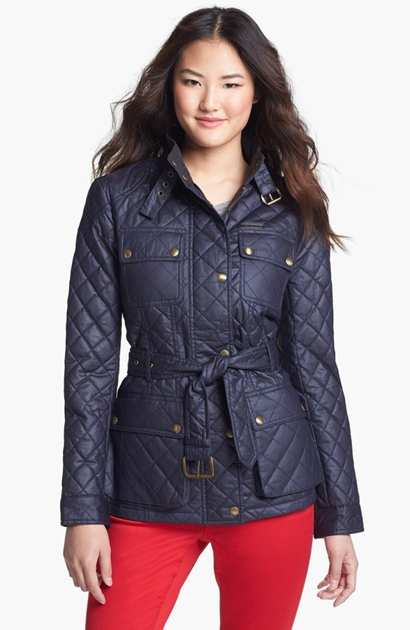 MICHAEL Michael Kors Quilted Field Jacket (Regular & Petite) (Online Only)