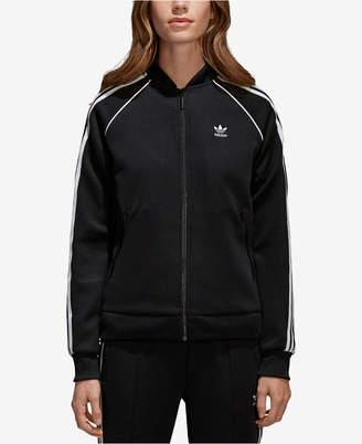 adidas adicolor Superstar Three-Stripe Track Jacket