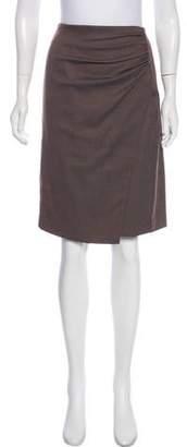 Etro Knee-Length Wool Skirt w/ Tags