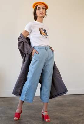 RES Denim Insider Crop Wide Jean
