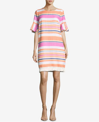 ECI Striped Shift Dress
