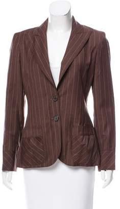 Valentino Pinstripe Wool Blazer
