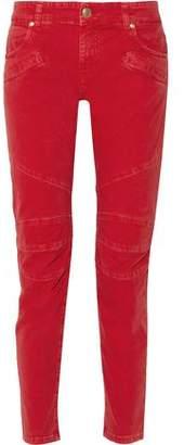 Pierre Balmain Low-Rise Corduroy Skinny Jeans