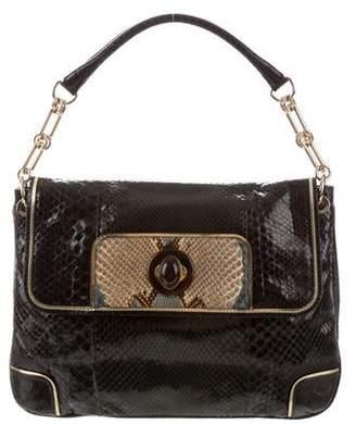 Anya Hindmarch Python Flap Bag