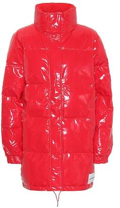 Calvin Klein Jeans Patent puffer jacket