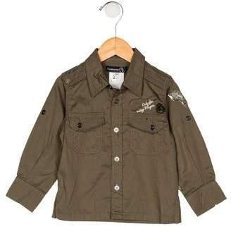 Jean Bourget Boys' Button-Up Shirt