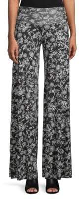 Rachel Pally Printed Wide-Leg Trousers
