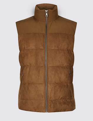 "Marks and Spencer Quilted Gilet with Stormwearâ""¢"
