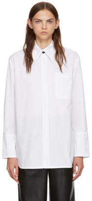 Marni White Cotton Poplin Shirt
