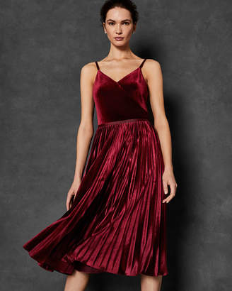 Ted Baker KHIM Pleated midi dress