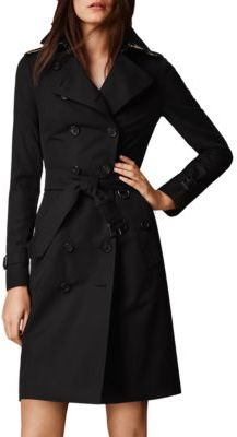 Burberry Sandringham Long Heritage Trench Coat $1,895 thestylecure.com