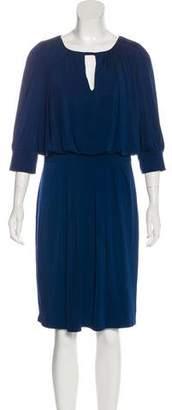 ABS by Allen Schwartz Knee-Length Three-Quarter Sleeve Dress