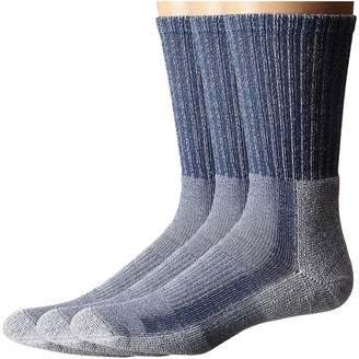 Thorlos Light Hiker Crew 3-Pair Pack Men's Crew Cut Socks Shoes