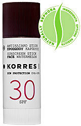 Korres Watermelon Sunscreen Stick SPF 30