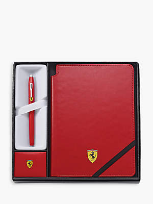 Cross Ferrari Century 11 Journal & Rollerball Pen