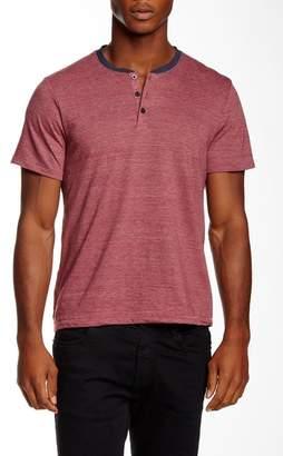 Public Opinion Short Sleeve Henley Shirt