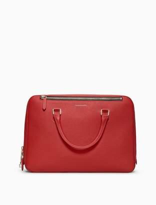 Calvin Klein grain calf leather briefcase