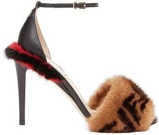 Fendi Double F open-toe sandals