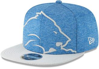 New Era Detroit Lions Oversized Laser Cut 9FIFTY Snapback Cap