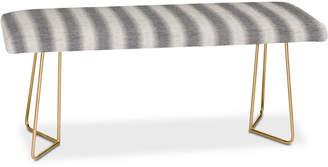 Deny Designs Holli Zollinger Seaside Stripe Bench