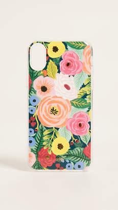 Rifle Paper Co. Juliet Rose iPhone X Case
