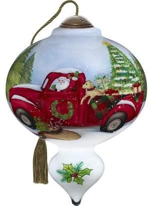 Precious Moments Santa's Special Delivery Shaped Ornament