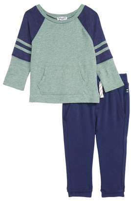 Splendid (スプレンディッド) - Splendid Raglan T-Shirt & Sweatpants Set