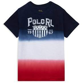 Ralph Lauren Boys' Jersey Ombré Tee - Little Kid