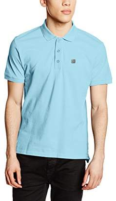 Voi Jeans Men's Beach Plain Short Sleeve Polo Shirt,XX-Large
