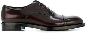 Prada patent oxford shoes